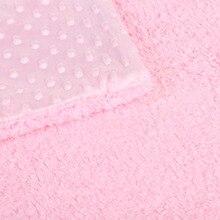 Baby Blanket and Swaddling Soft Fleece Blanket Solid Bedding Set
