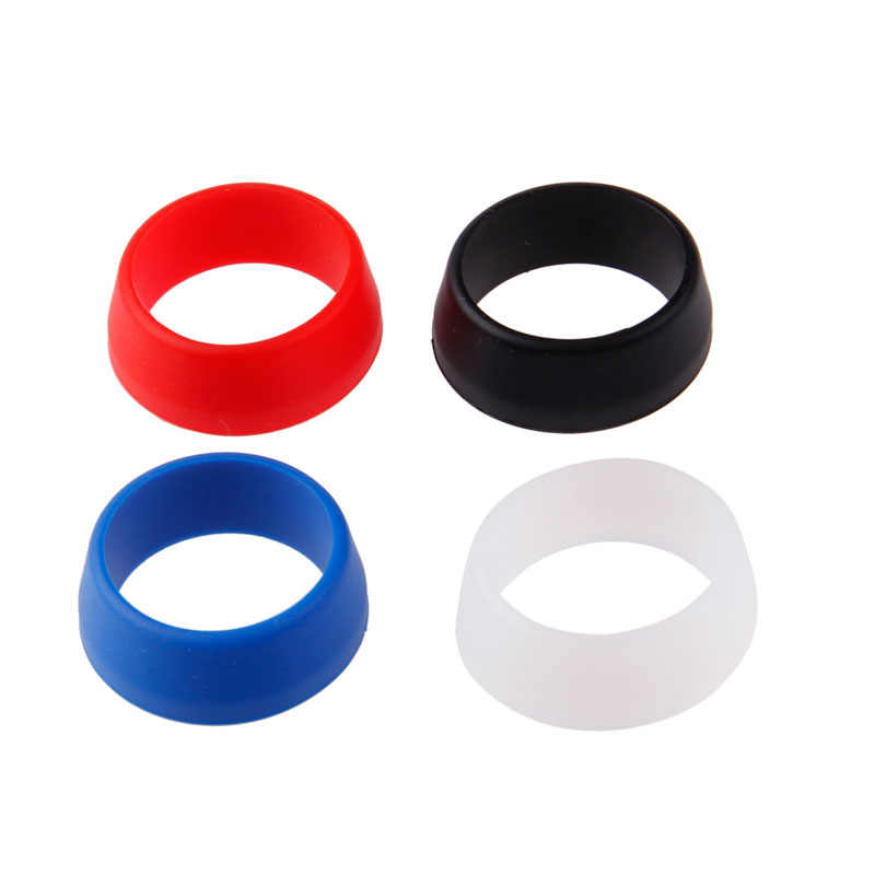 25-30mm/30-34mm Bike MTB Silicone Ring Bicycle Waterproof Seat Post Dust Cover  3