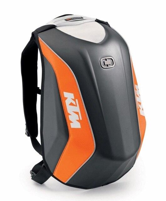 2018 Waterproof Carbon Fiber Hard Shell Motorcycle backpacks locomotive bags  for KTM OGIO Mach Moto Racing f971fa6e5eba4