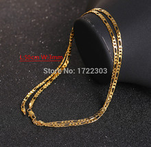 Фотография Bangrui chain cuban gold mens hiphop boys infinity men gold filled necklace vintage link plated chains steel jewelry for women