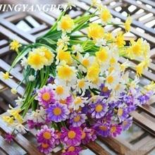 Bouquet Simulation Grain-Decorative Artificial-Flowers Aquatic-Plan Daisy 1pcs