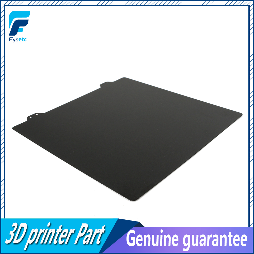 235x235mm Double Sided Textured PEI Spring Steel Sheet Powder Coated PEI For Creality Ender-3 Ender-3s Tevo Flash