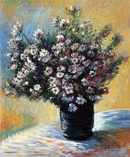 Vase of Flowers by Claude Monet Handpainted