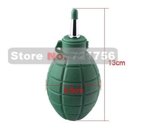 Green Rubber air blower dust pump cleaner for  DSLR camera CCD CMOS Lens filter computer