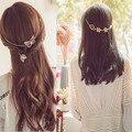 Novos Acessórios de moda folha headbands headbands grampos grampos & borboleta presente para as mulheres menina H423