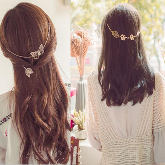 Ozdobne opaski na włosy 2 wzory