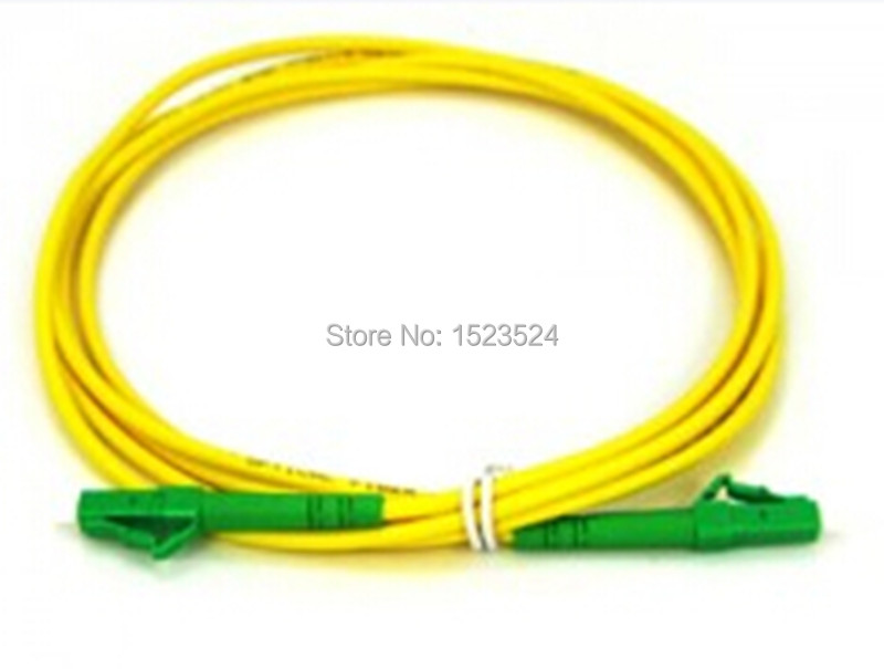Free Shipping SM SX PVC 3mm 15 Meters LC/APC Fiber Optic Jumper Cable LC/APC-LC/APC Fiber Optic Patch Cord