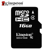 Kingston Class4 8G 16GB MicroSDHC TF Flash Memory Card 4MB S Minimal Speed C4 Microsd Cartao