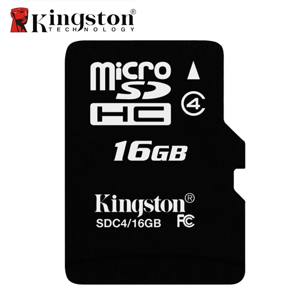 Kingston 8GB 16GB Tarjeta Micro SD Card Class 4 Memory Card Micro SD TF Card 8 GB 16 GB Microsd Carte SD for Dgital Device maxchange micro sd tf memory card red 8gb class 10