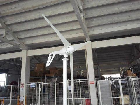 w gerador de turbina eolica com controlador