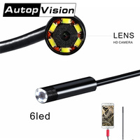 AN99 2 IN 1 7mm Endoscope Android PC USB Inspection Camera 7MM 0 3MP 720P HD