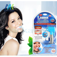 2pc Luma Smile Teeth Whitening Burnisher Polisher Whitener Stain Remover Health Care White Without Battery