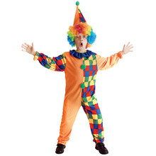 7 Sets/lot Free Shipping Kids Clown Costumes Halloween Christmas Masquerade Party Boys Fancy Dress Children Cosplay Clothes