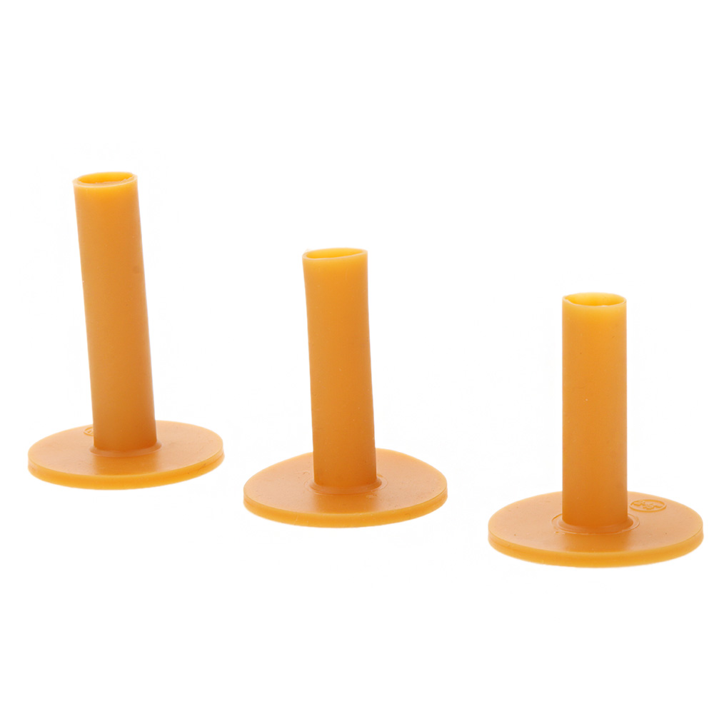 Image 5 - 3pcs Pack Durable Rubber Golf Tee Holder 60/70/80mm Training Practice Tee Mat Goft Ball Hole Holder Beginner Trainer Practice