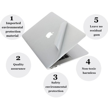 For Macbook Pro 13 15 Retina Full body Vinyl Skin Cover Protector Sticker For Mac book Guard Case Bottom Cover New Air 13 A1932