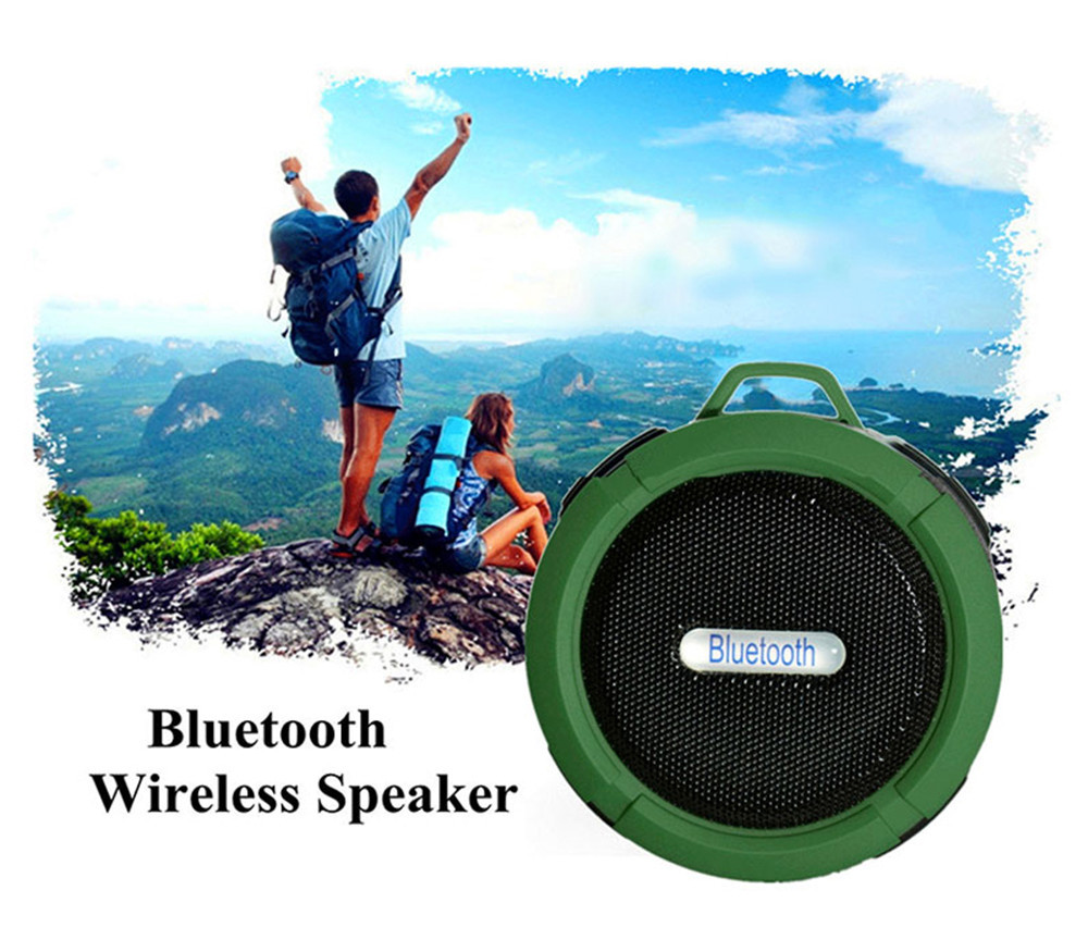 Alto-falante portátil bluetooth ao ar livre sem fio música subwoofer esportes som estéreo mini alto-falante bluetooth portátil baixo