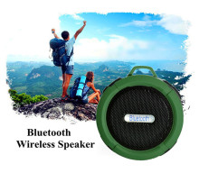 Portable Bluetooth Speaker with IP65 Waterproof Wireless Sports Style Stereo Subwoofer for cell phone