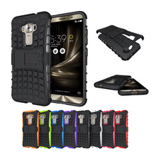 Asus Zenfone 3 ZE520KL Case Heavy Duty Armor Shockproof Hard Soft Silicone Phone Case for Zenfone 3 5.2inch Rugged Rubber Cover
