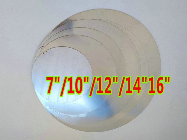 2mm Aluminum 3003 Blank Round plates 7