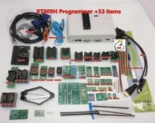 100% Original RT809H EMMC Nand FLASH Programmer +53 Items +TSOP56 TSOP48 SOP8 TSOP28 EDID Cable VGA to HDMI + SOP8 Test Clip