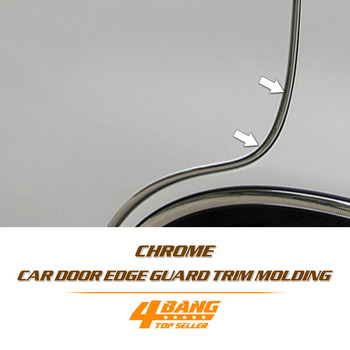 147.6ft 5x8mm U Style Chrome Silver Trim Strip Car Bumper Air Vent Grill Switch Rim Moulding Door Guards Edge Protector 45Metres