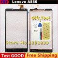 Новые Оригинальные Для Lenovo A880 880 Сенсорным Экраном дигитайзер Запасные Части Внешний экран Черный + Инструмент + Бесплатная доставка