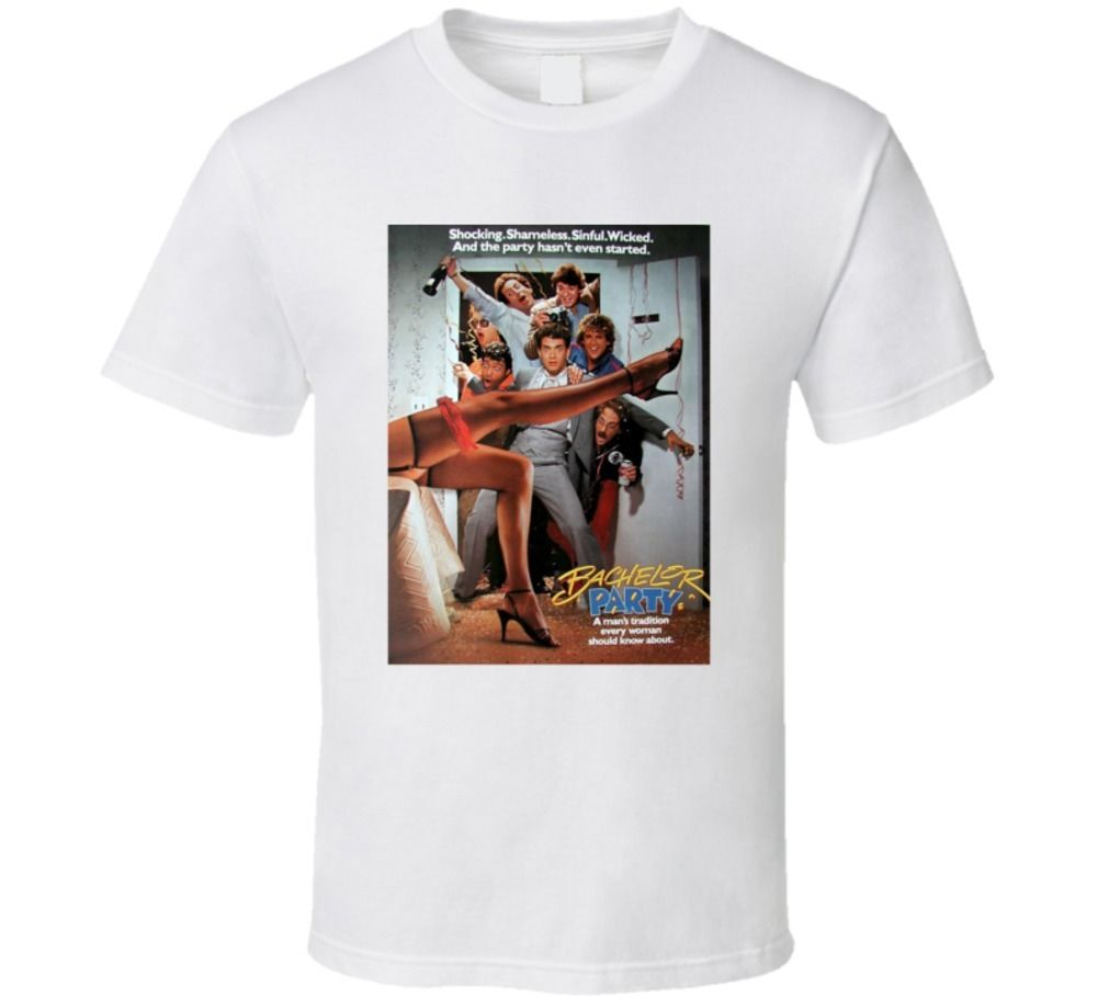 Bachelor Party 80s Comedy Parody Tom Hanks Funny Movie Fan T Shirt image