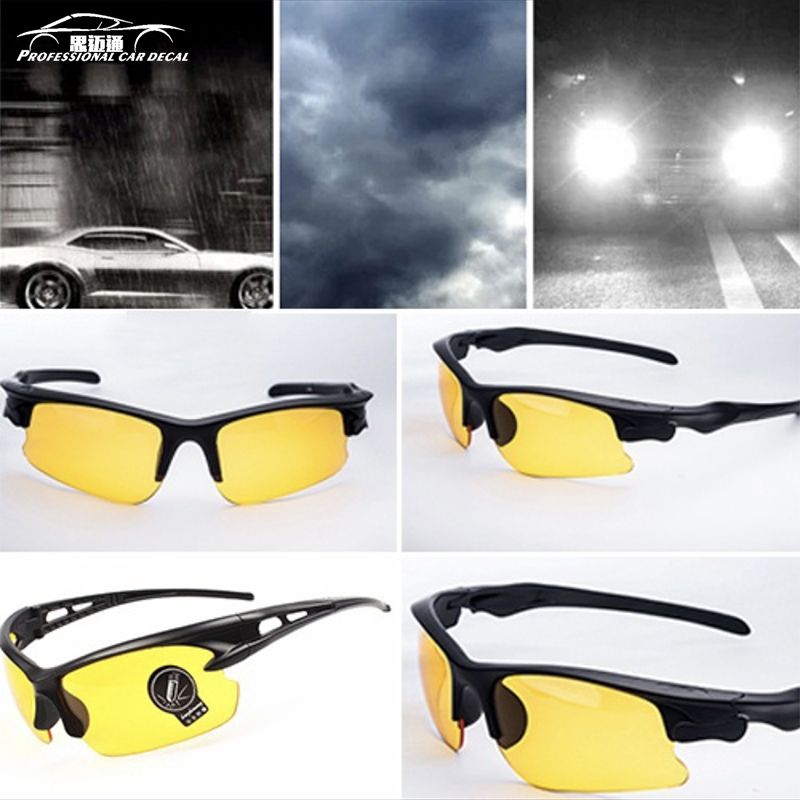 Night Vision Sunglasses Men Women Goggles Glasses UV400 Sun Glasses Driver Night Driving Eyewear ...
