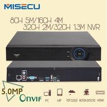 MISECU 8CH * 5 M/16CH * 4 M/32CH 2MP/32CH NVR 1.3MP CCTV Detección de Movimiento Wifi ONVIF FTP $ NUMBER CANAL de entrada 2.3 Para Sistema de Cámaras de Seguridad IP