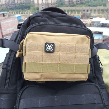 Outdoor Sports Tactical Molle Pouch Outdoor Unique Bag Military Waist Pack Small Pocket Military Running Travel Camping Bags men tactical molle pouch belt waist pack bag small pocket military waist pack phone pouches outdoor running travel camping bags