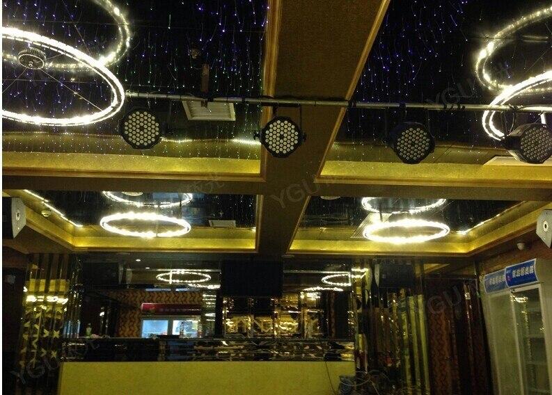 Personalità creativa NUOVO Diamante 4 Anello LED K9 Lampadario di Cristallo di Luce Cerchi Crtstal lampada atmosfera di Lusso consegna gratuita - 3