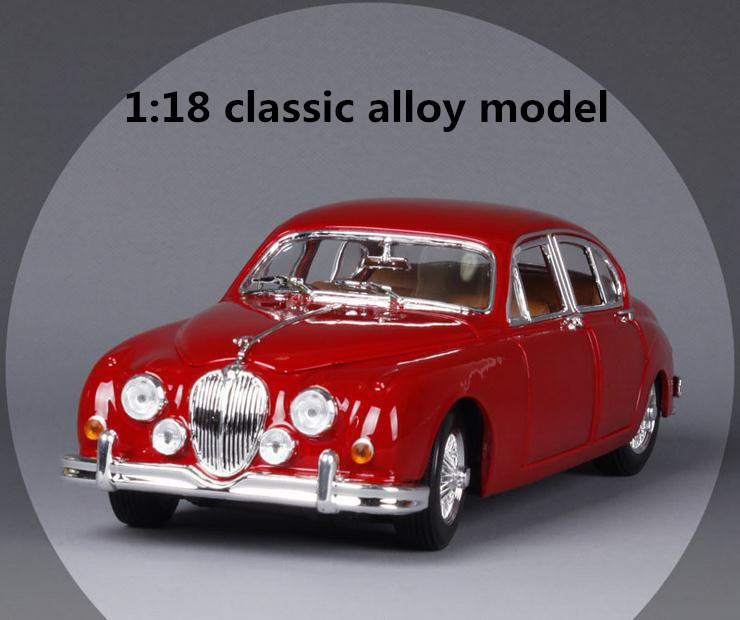 1:18 Advanced alloy car model, high simulation 1959 Jaguar classic car, classic retro collection toy , wholesale free shipping 1 18 otto renault espace ph 1 2000 1 car model reynolds