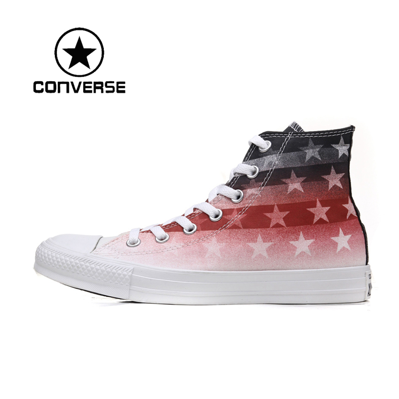 ФОТО Original   Converse All Star unisex high-top skateboard shoes  sneakers