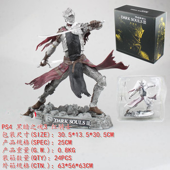 25cm Dark Souls 3 Limited SCULPT Soul of Cinder Red Knight PVC Action Figure Model Toys Game Dark Souls III Figurines фото