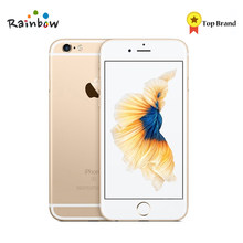 Apple – authentique smartphone iPhone 6S Plus, téléphone portable reconditionné, processeur Dual Core, 2 go de RAM, 16 ou 64 go de ROM, écran de 5.5 pouces, caméra 12 mpx, vidéo 4K, LTE