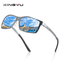 Design Aluminum Magnesium Sunglasses Men Polarized Square Driving Sun Glasses Male Eyewear Accessories For Men цена 2017