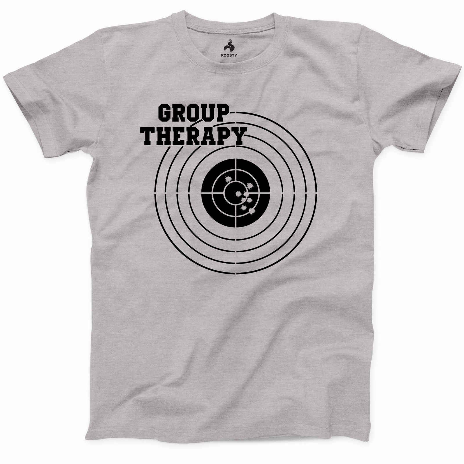 e733bf3dc Group Therapy Shooting T Shirt Funny Gun Laws Rights American 2nd Amendment  Tee