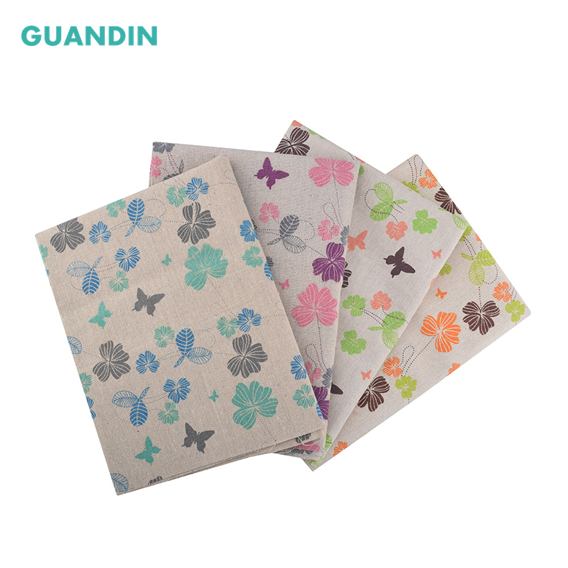 kitten Pattern Printing Cloth Cotton Linen Fabric Sewing curtain//table cloth DIY