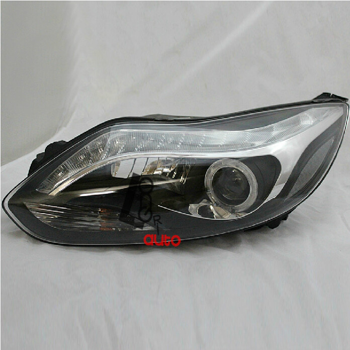 Bi-xenon Projector  Headlight with LED DRL For  Ford Focus 2012-2013 head lamp