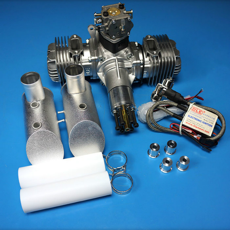 Original DLE 120 120CC Original GAS Engine For RC Airplane model Parts Hot Sell DLE 120 Engine