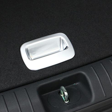 ABS MATTE TRUNK HANDLE FRAME COVER TRIM STICKER CAR STYLING FOR KIA SPORTAGE 2016 2017 CAR ACCESSORIES DECORATION SEQUINS