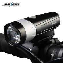 Велосипедный светильник, ультра-яркая лампа CREE XML-2, велосипедный передний светодиодный светильник, лампа с usb-зарядкой, глубокий водонепроницаемый велосипедный светильник