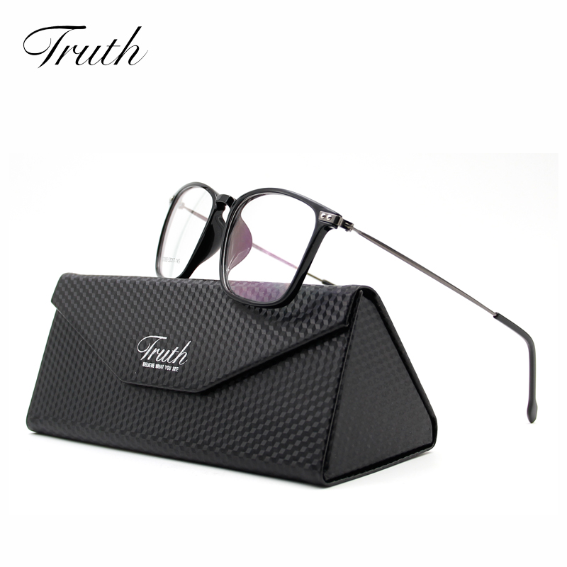 TRUTH New Elegant Women Optical Glasses TR90 Frame Men Brand Designer Vintage Fashion Clear Lens Eyeglasses