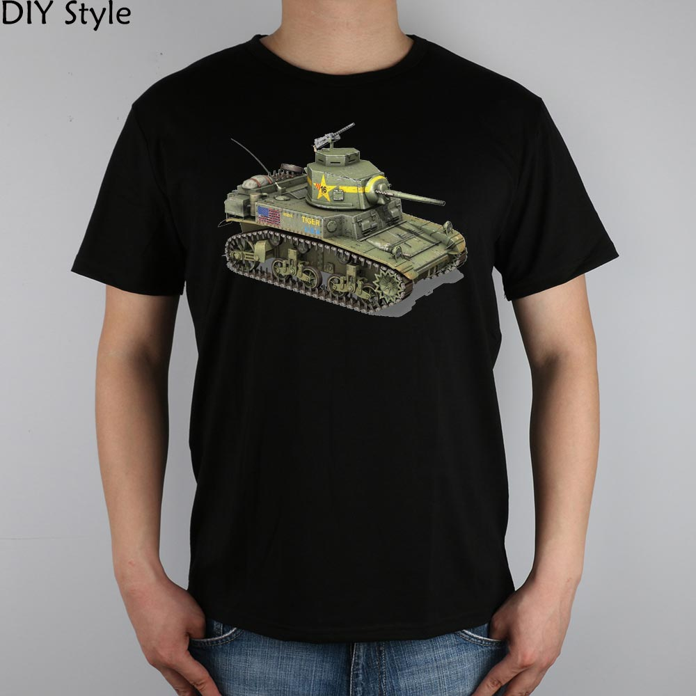 Military army tiger tank t shirt top lycra cotton men t for Army design shirts online