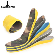1 pair Unisex Comfortable Insoles Insert Orthotic Arch Support Sport Shoe Pad Sport Running Free Size Cushion for Men and Women