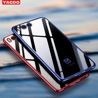 Xiaomi Mi6 Case Cover Silicon Luxury Tpu Armor Capas Original Yagoo Xiaomi Mi 6 Case Xiomi