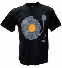 Turntable Graffiti Art men's t-shirt
