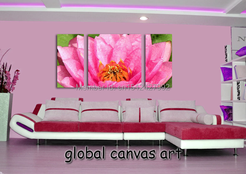 3 panel Wall art picture Modern Home Decoration canvas Print Van ...