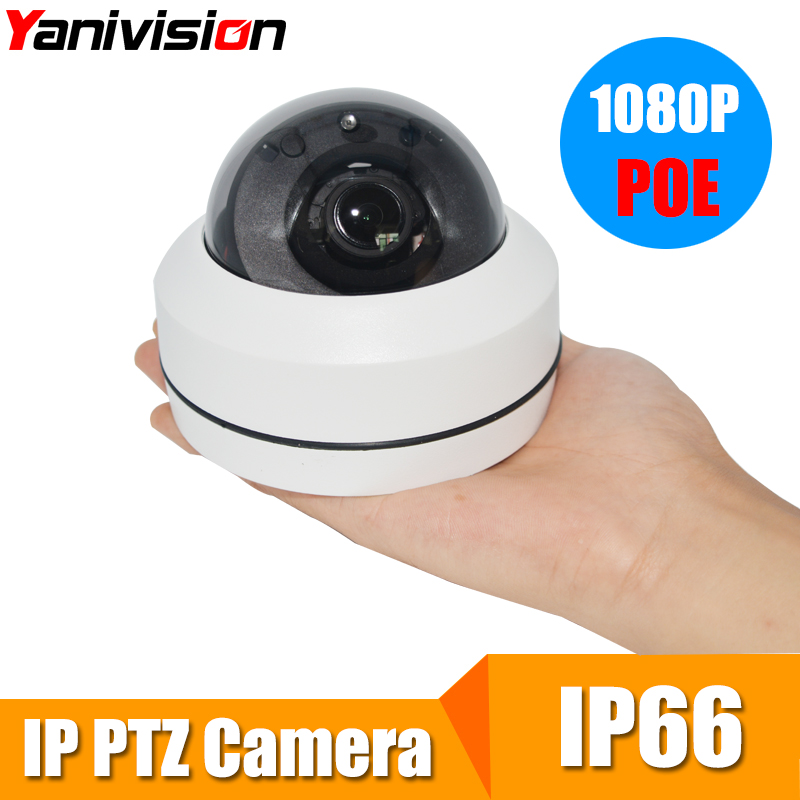 Full HD Onvif 3X Zoom P2P H.264 20m IR Night Vision PTZ Speed Dome Camera 1080P Waterproof Outdoor Dome POE PTZ 2MP IP Camera