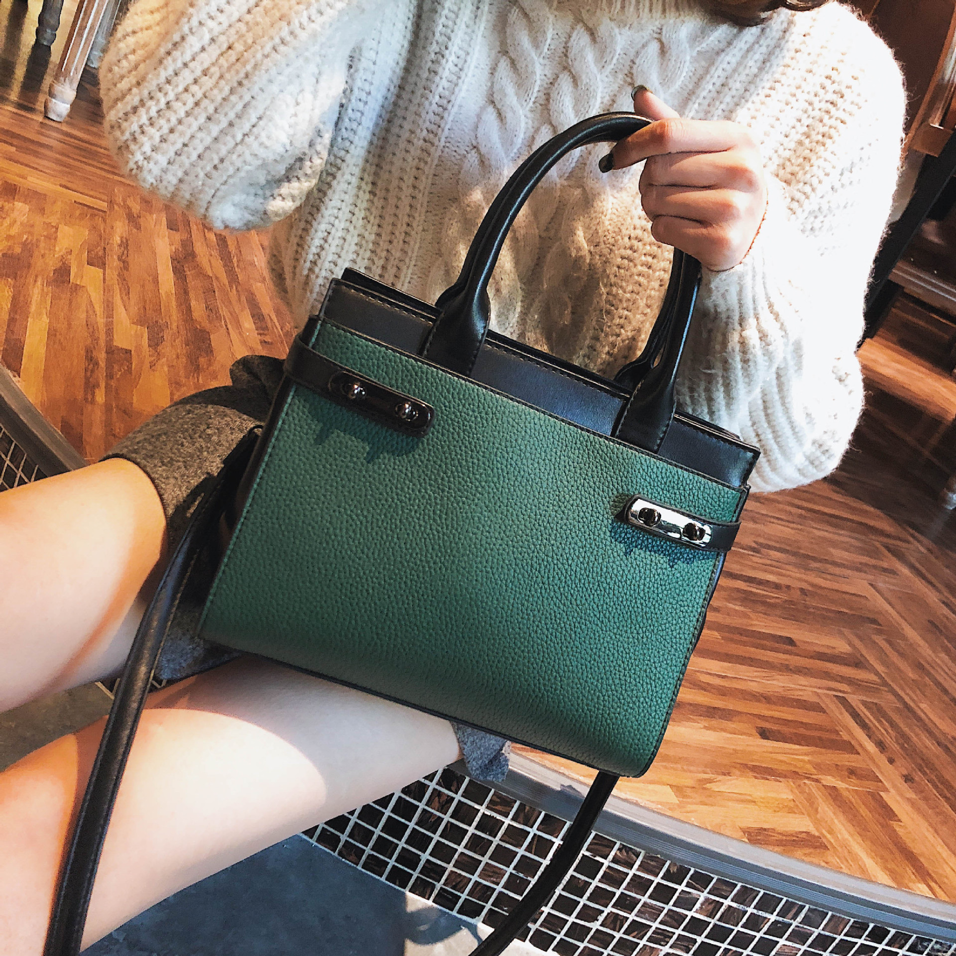 2018 New Women Bag Fashion Brand hand bag Big Solid Pu Leather Lady Shoulder Bag Female Casual Tote Crossbody bags 6v1284 jooz brand new luxury women handbags lady pu leather crossbody shoulder messenger bags female boston bowknot solid pattern bag
